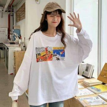 Áo Thun Hàn Quốc Nữ Giá Rẻ - ATNHQ57
