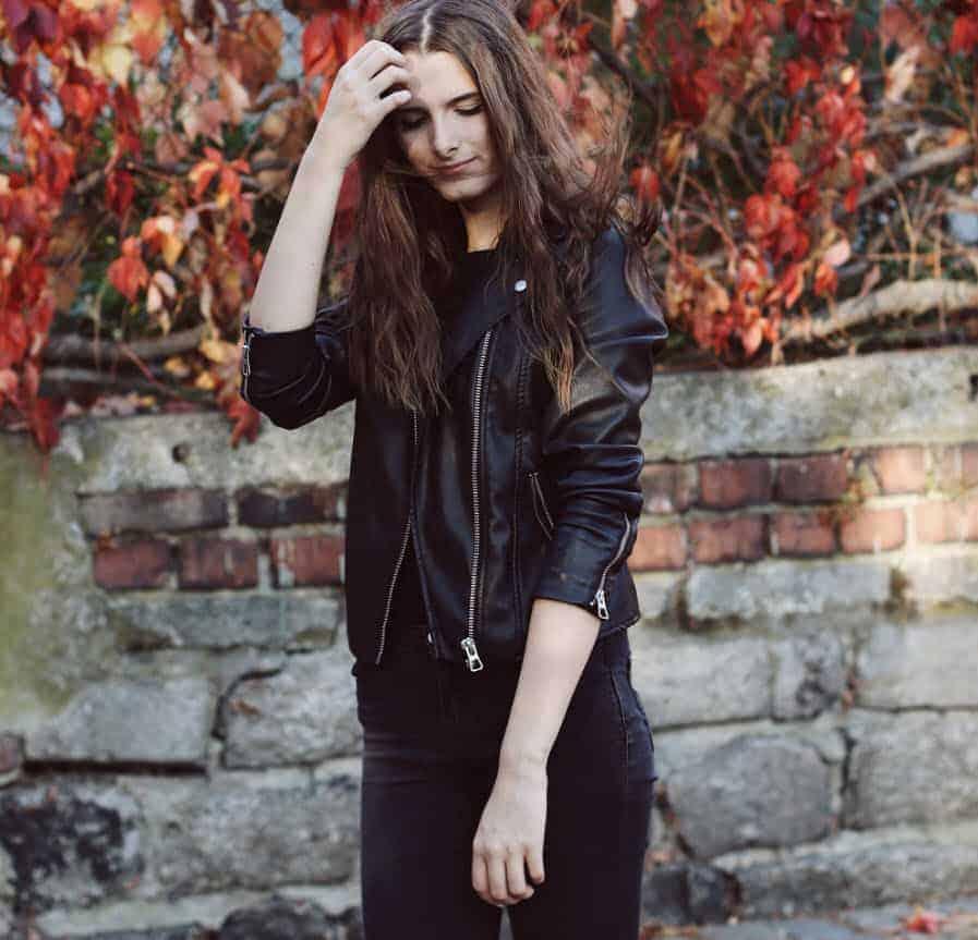 Áo khoác da nữ đẹp