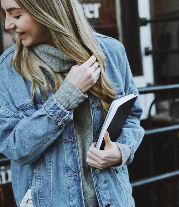 Áo khoác jean nữ đẹp