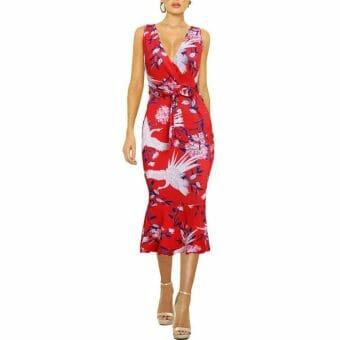 Đầm Hoa Đẹp - VDDH56