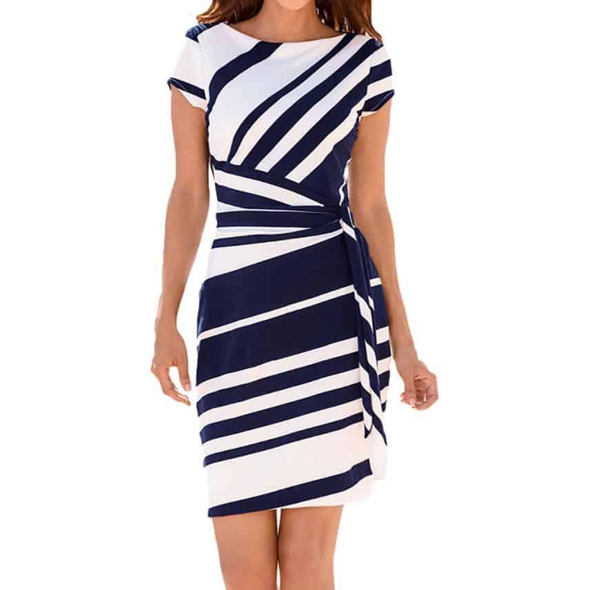 Váy Đầm Công Sở Cá Tính - VDCS53