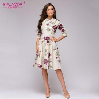Váy Hoa Dễ Thương - VDVH55