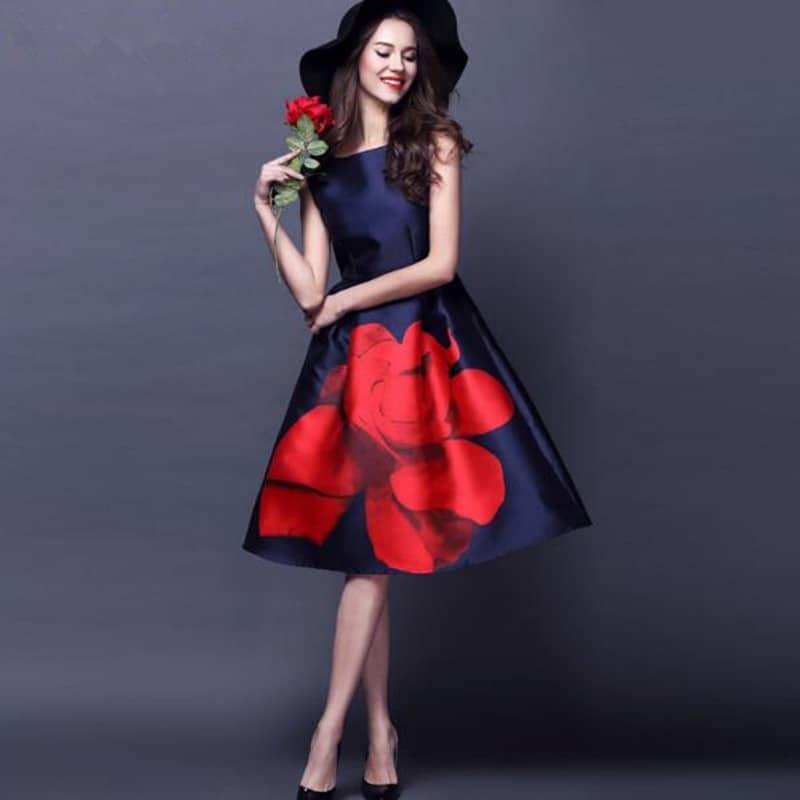 Váy Hoa Hàn Quốc - VDVH51